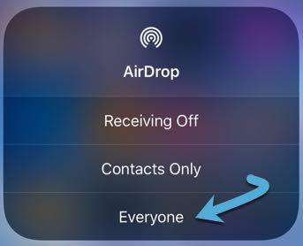 Resuelve todos los problemas de recepción de Airdrops para todos los Ios