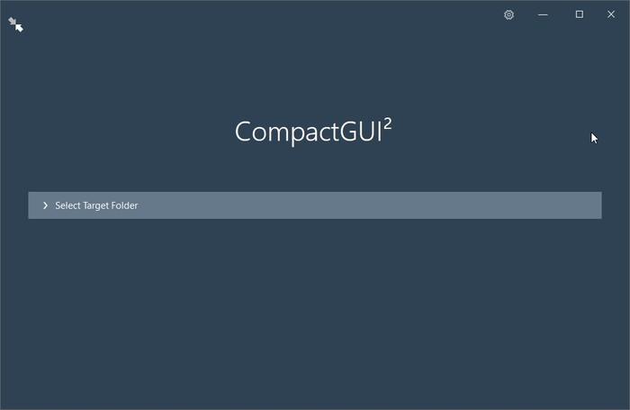 Expanda el disco duro con Compactgui Run Compactgui