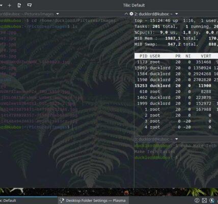 Actualiza el terminal Linux con Tilix