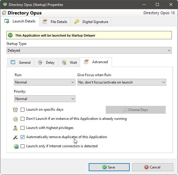 Iniciar Delayer Optimizar conexión Iniciar detalles avanzados