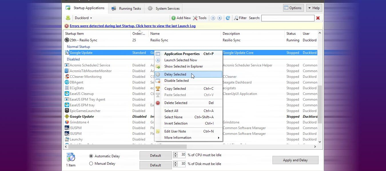 Cómo controlar sus elementos de inicio con Startup Delayer [Windows]