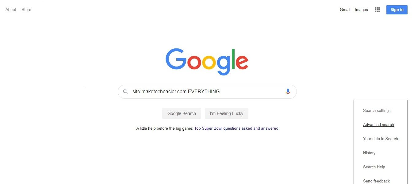 Cómo utilizar Google de forma eficaz para buscar un sitio específico