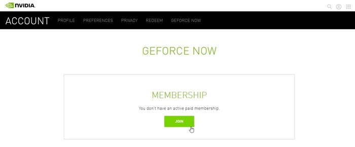 Geforce Now Nvidia Account Streaming Game