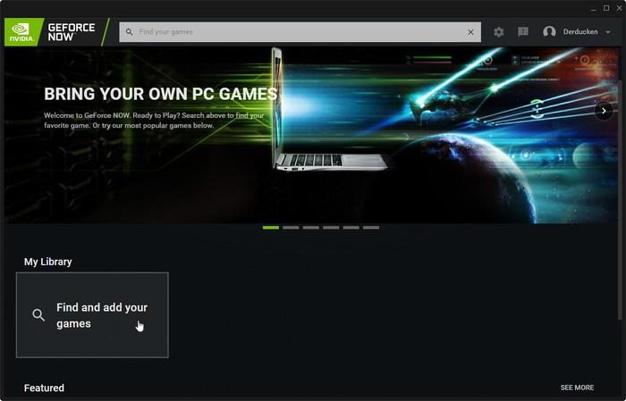 Geforce Now Game Streaming Encuentra tus juegos