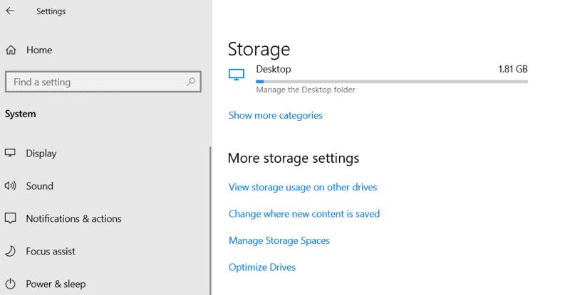 En movimiento Windows Los programas cambian donde está el contenido nuevo