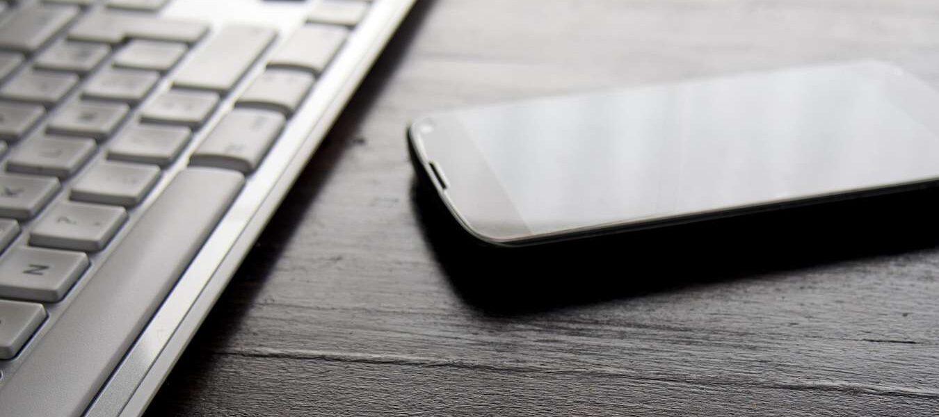 Cómo usar un teclado físico para escribir Android Llamada