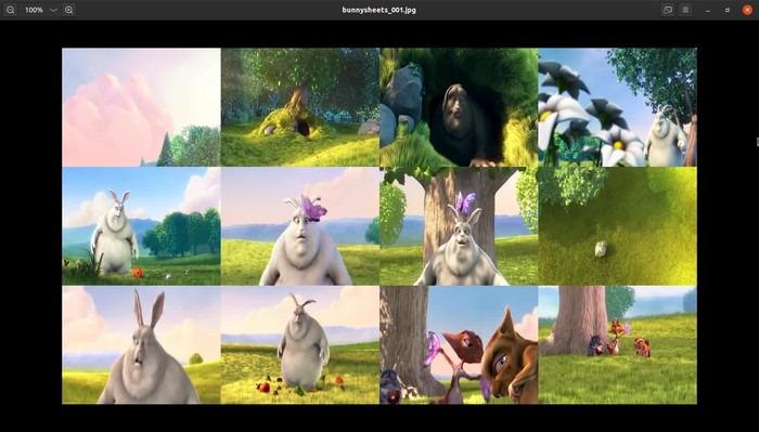 Imágenes prediseñadas de Ubuntu Ffmpeg