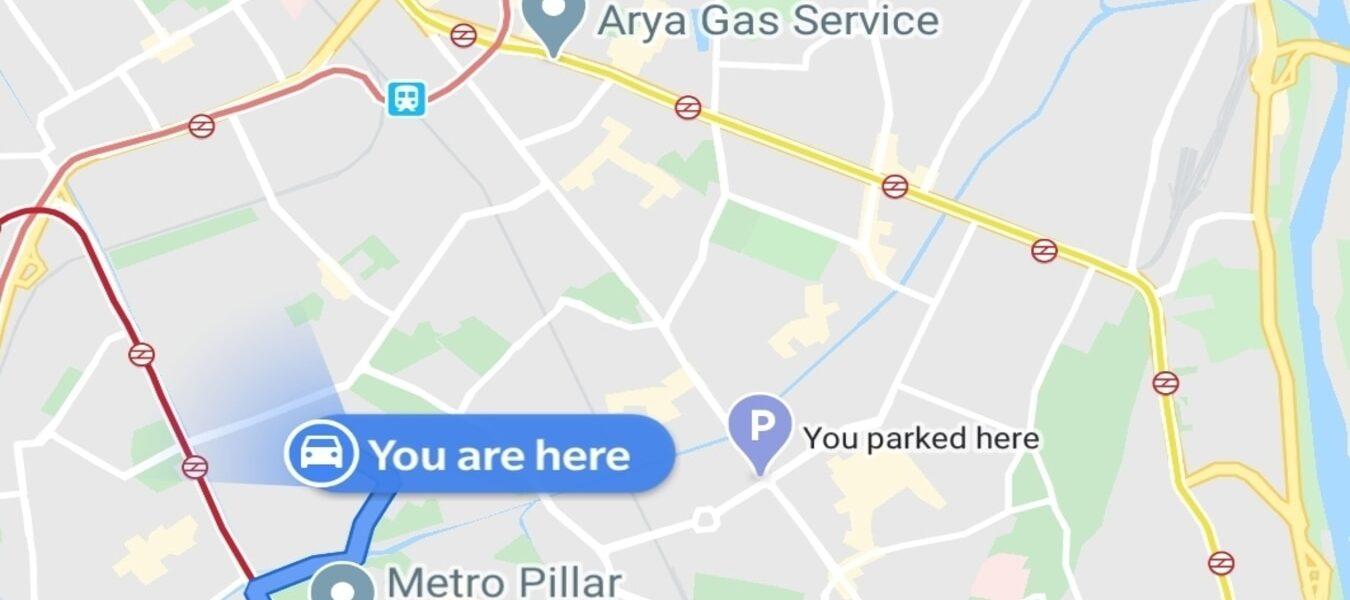 Cómo recibir una alerta de Google Maps cuando conduce en la dirección incorrecta