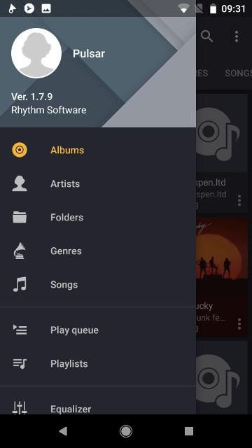 música-androide-pulsar
