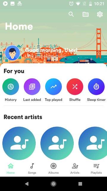 música-retro-androide
