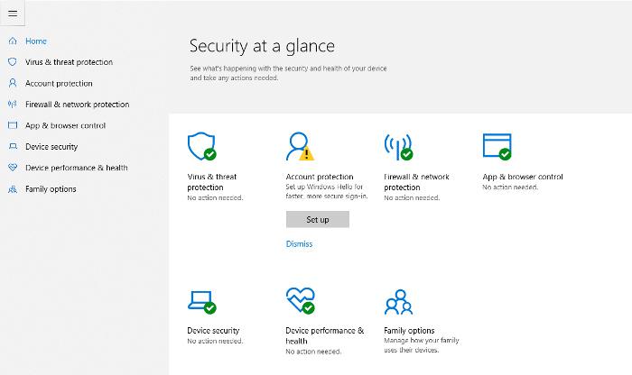 es-windows-defender-lo suficientemente bueno-windows-defender-security-center