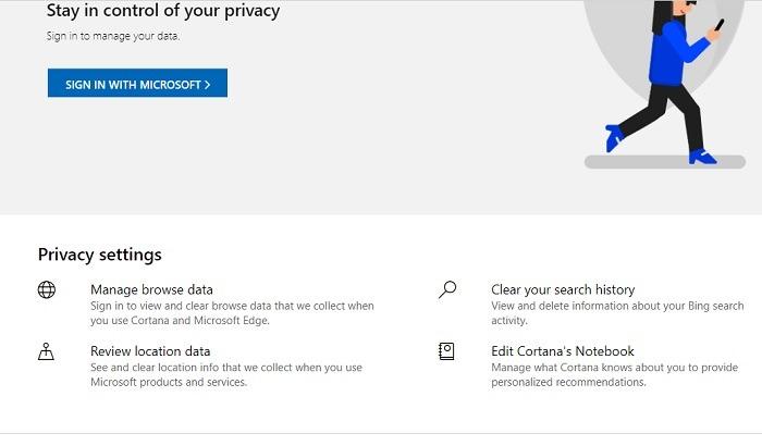 Bing es mejor que la búsqueda de privacidad de Google