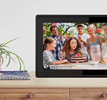 Ahorre hasta $ 58 en el marco de fotos digital Feelcare Smart Wi-Fi de 16 GB