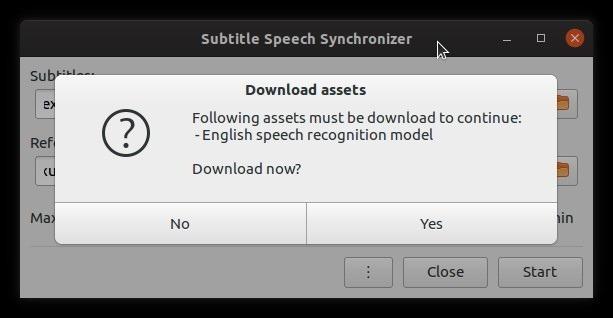 Los subtítulos se configuran automáticamente con los recursos de descarga Subsync