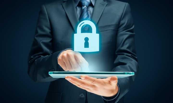 Icono de candado de seguridad wifi 2020
