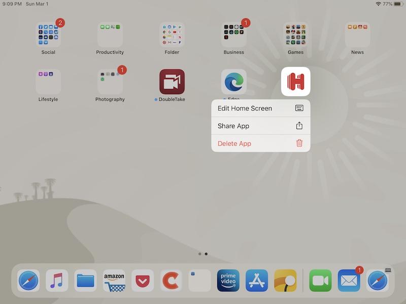 Cómo personalizar la base para iPad agregando aplicaciones
