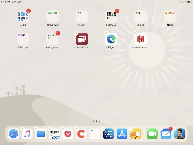 Cómo personalizar las aplicaciones de eliminación de dock de iPad