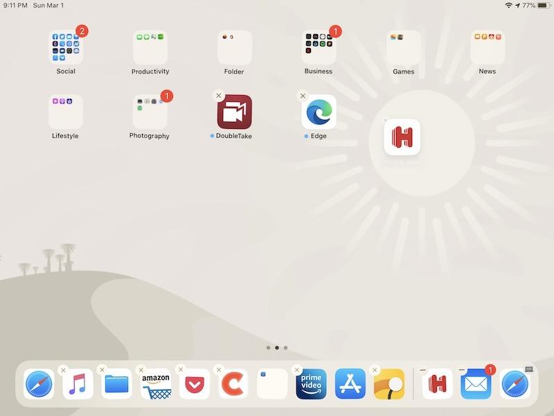 Cómo personalizar las aplicaciones móviles de la base para iPad
