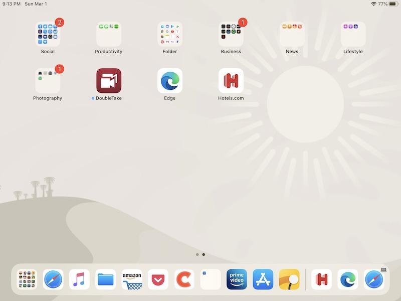 Cómo personalizar Ipad Dock agregando carpetas