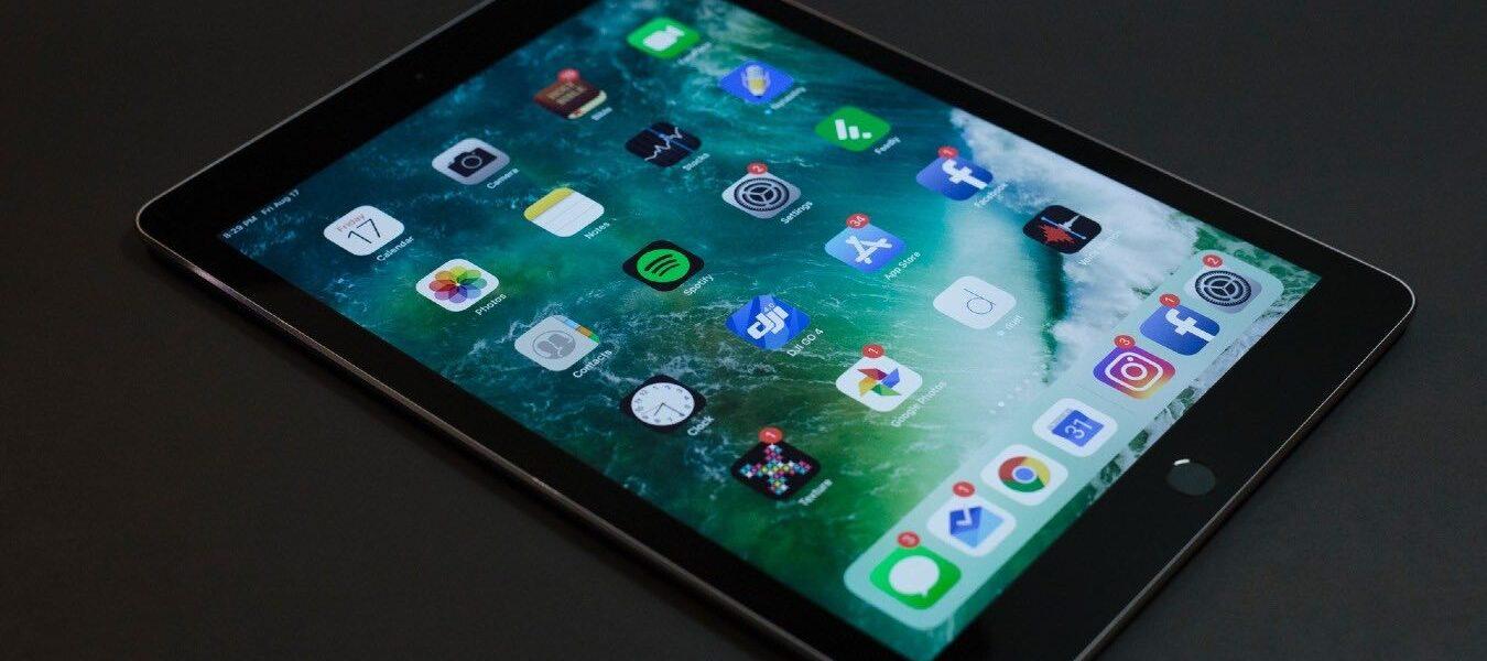Cómo personalizar la base para iPad