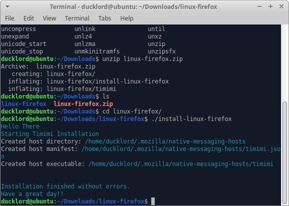 Wiki portátil con Tiddlywiki Instalar Timimi