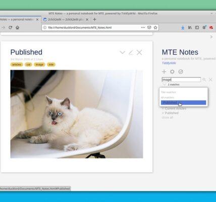 Cómo crear una wiki portátil con TiddlyWiki