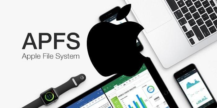 Registro de sistemas de archivos Apfs