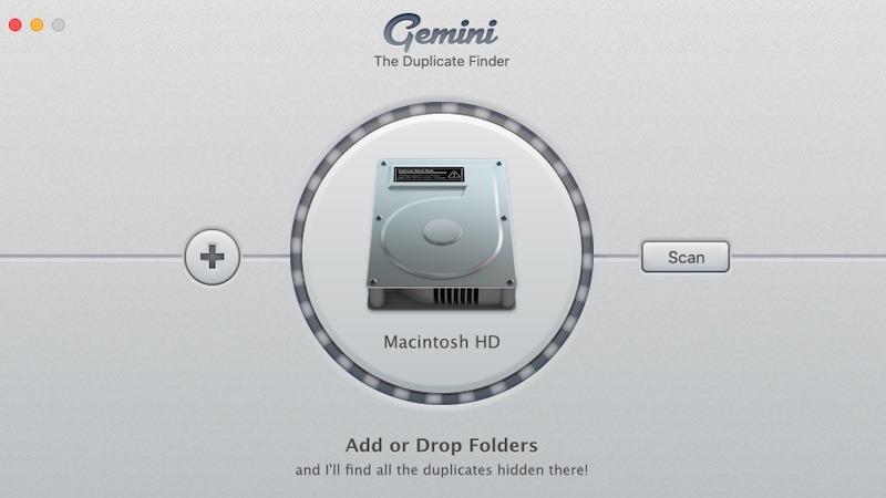 Limpiar el escaneo del disco duro de Mac Gemini