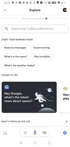 Funciones principales del Asistente de Google