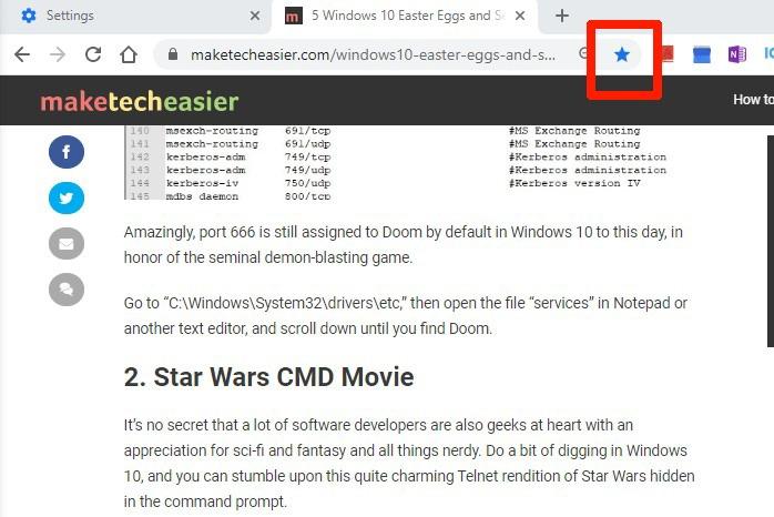 Cómo enviar su sitio web de Chrome al marcador de su teléfono
