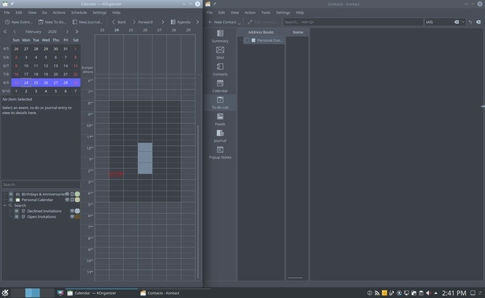 Organice su escritorio con aplicaciones Kde en paralelo