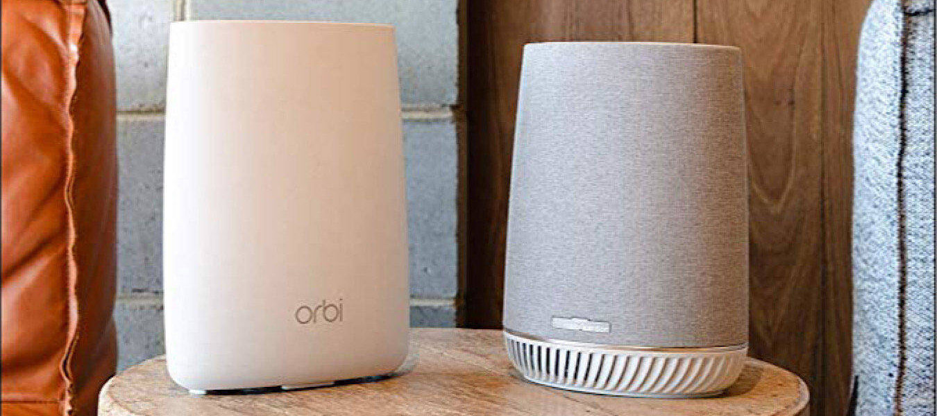 Ahorre $ 230 en un sistema Wi-Fi en malla para todo el hogar Orbi Voice de NETGEAR