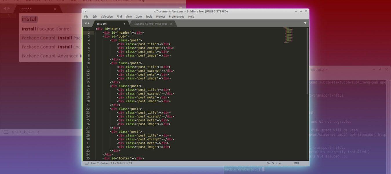 Cómo instalar Sublime Text en Ubuntu
