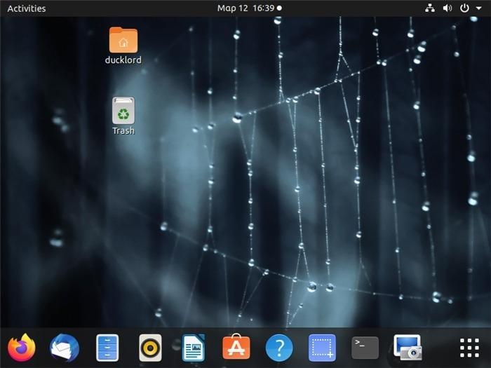 Reinicie Ubuntu Desktop Gnome Volver al escritorio