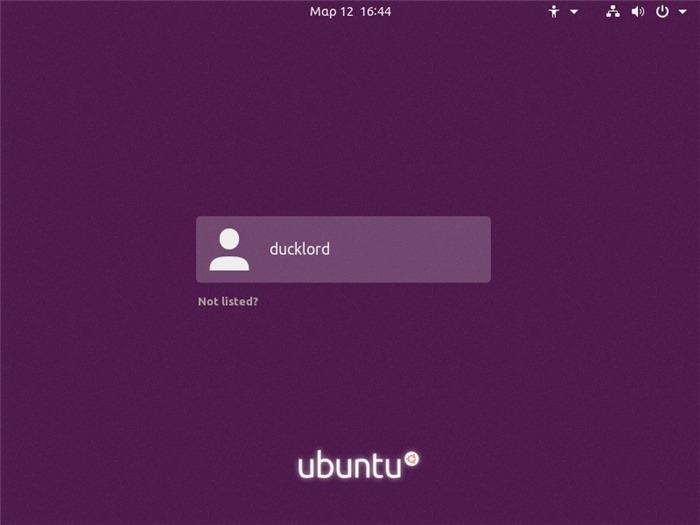Reinicie Ubuntu Desktop Gnome Volver a iniciar sesión