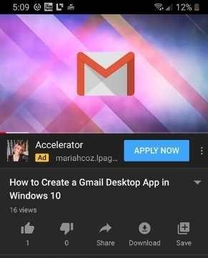 Habilitar subtítulos de YouTube Android Video abierto