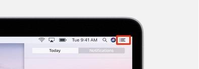 Cómo administrar las notificaciones de tres líneas de Mac
