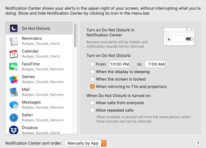 Cómo administrar las notificaciones de Mac