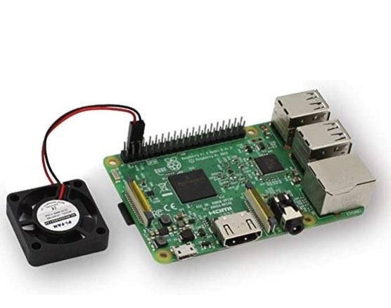 Cuando el procesador funcione por más tiempo, necesitará una forma de enfriar su Raspberry Pi.