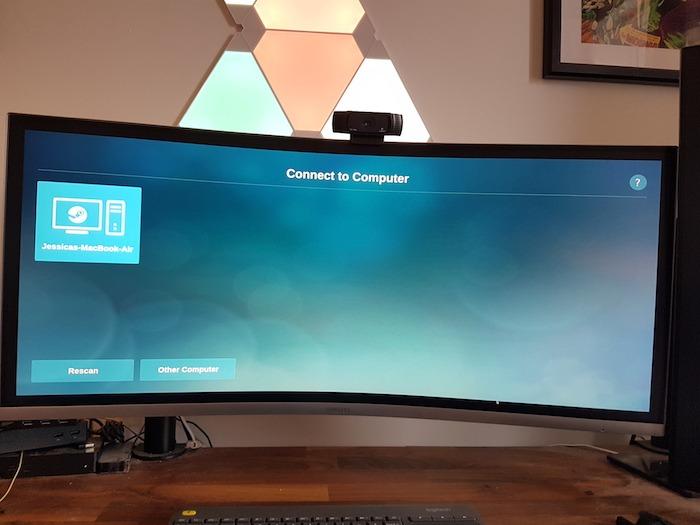 Raspberry Pie debería detectar automáticamente su computadora portátil o computadora.