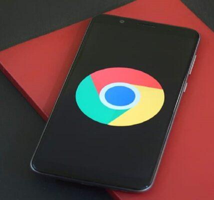 Cómo mover la barra de menú hacia abajo en Chrome para Android