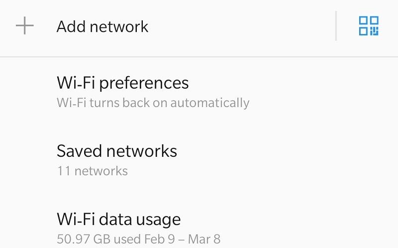 Android        Agregar una red Wi-Fi