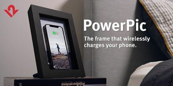 Ahorre $ 40 en el marco de fotos PowerPic y el cargador Qi de Twelve South