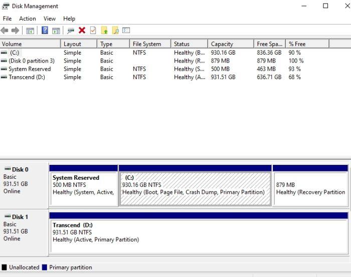 Protección de archivos con contraseña Windows 10 Gestión de discos