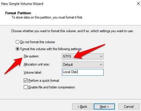 Protección de archivos con contraseña Windows 10 NTFS