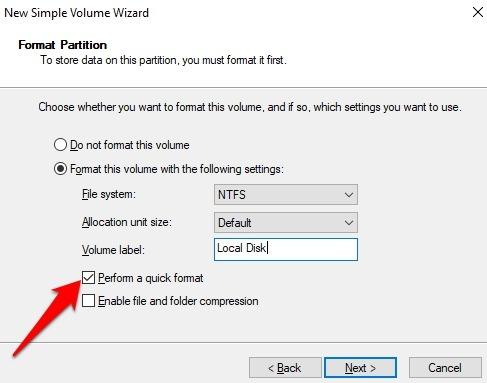Protección de archivos con contraseña Windows 10 Haz un formateo rápido