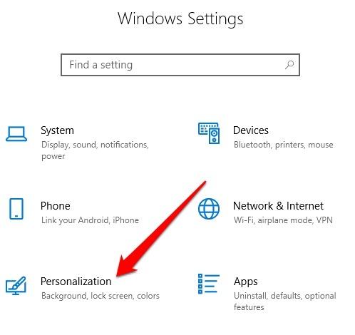 Instalar Administrar fuentes Windows 10 configuraciones de personalización