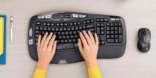 Ahorre $ 28 en la combinación de teclado y mouse inalámbricos Logitech MK550