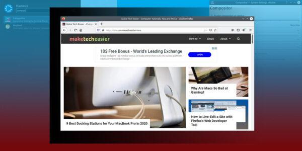 Cómo tomar capturas de pantalla sin sombras en KDE