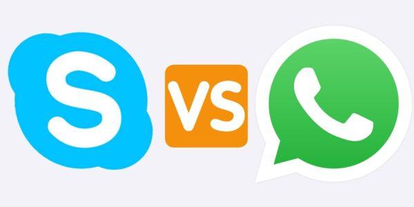 Skype versus.  WhatsApp: ¿Qué aplicación de videollamadas es adecuada para usted?